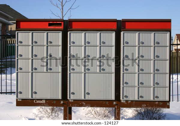 Canadian mail box