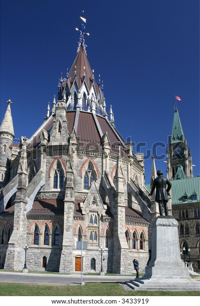 Canadian Parliament Library, Peace Tower