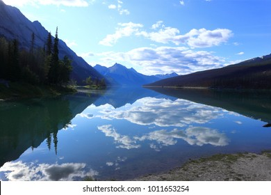 Canadian Rockies, Jasper National Park, Medicine Lake