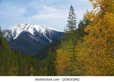 Canadian Rockies near Invermere, British Columbia