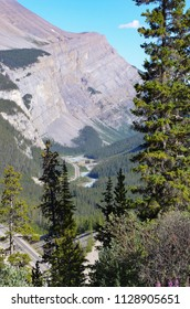 Canadian Rockies Trans-Canada Highway view