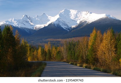 Canadian Rocky Mountains landscape
