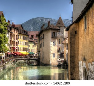 The Canal of Annecy, France
