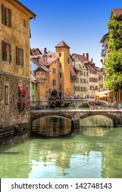 Canal in Annecy, France