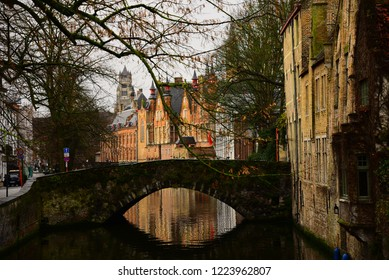 The canal of Brugge