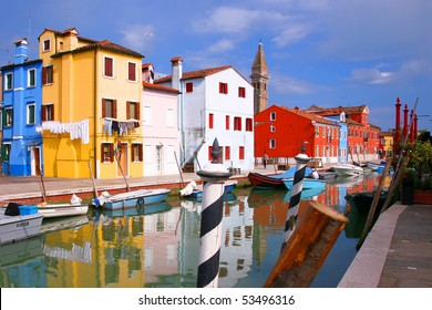 Canal of Burano - Venice 2
