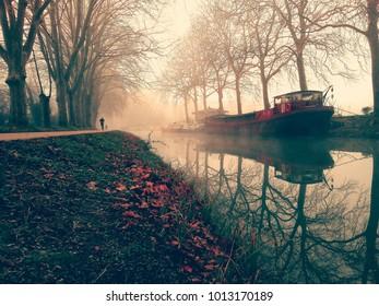 canal du midi Toulouse France