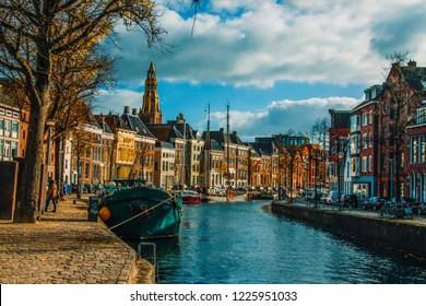 canal of Groningen