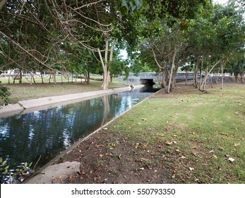 canal in Mayaguez, Puerto Rico