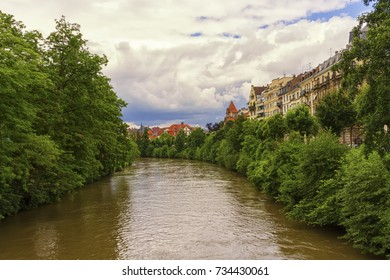 Canal in Strasbourg, France