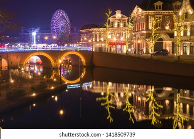 the canal in theme park, nagasaki