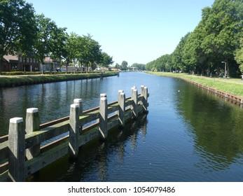 Canal at Tilburg (Netherlands)