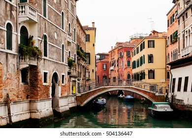 Canal at Venice, italy