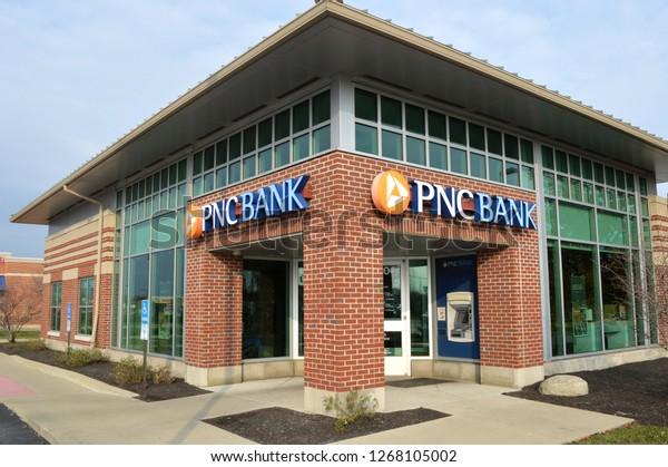 Canal Winchesterohusa November 242018 Pnc Bank Stock Photo