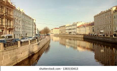 Canals of St Petersburg, Russia