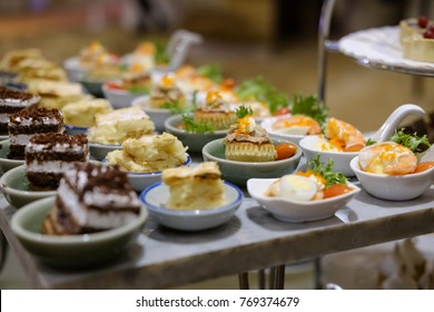 canapes catering food