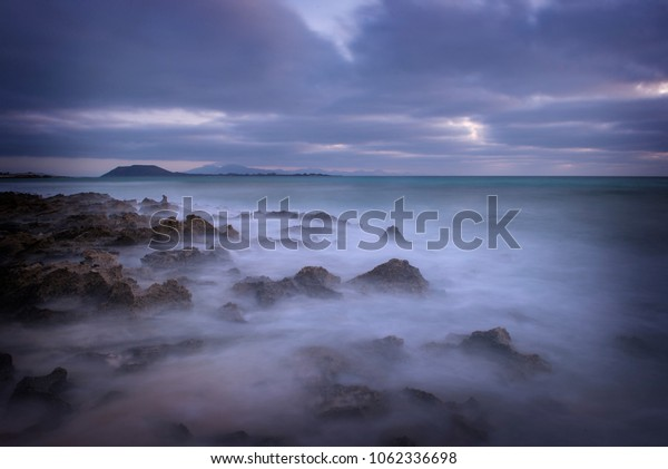 CANARY ISLANDS; FUERTEVENTURA LANDSCAPE