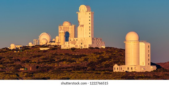Canary Islands - Tenerife - Astrophysical Observatory Teide