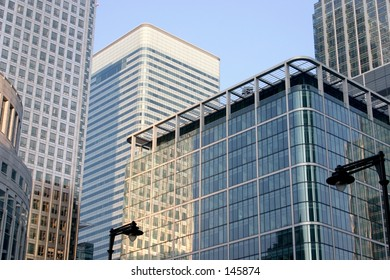 Canary Wharf Centre in London