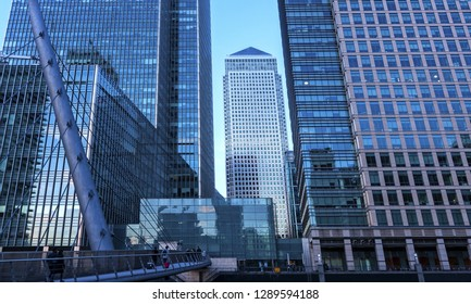 Canary Wharf is a large business and shopping development in East London. London's traditional financial centre
