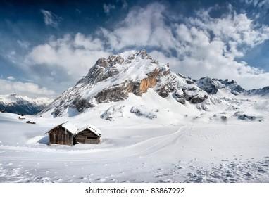 Canazei, Val di Fassa, Dolomiti, Alpes, Italy