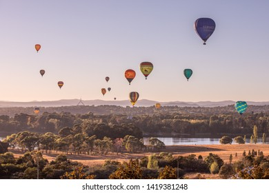 Canberra, ACT, Australia, 11 March 2019 , Canberra Balloon Spectacular