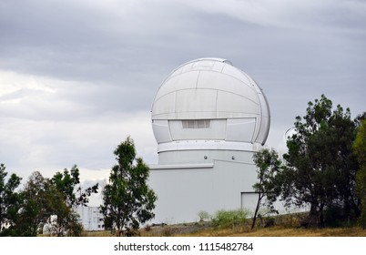 CANBERRA, AUSTRALIA -12 DEC 2016-  View of the Mount Stromlo Observatory   (MSO), headquarters of the ANU Research School of Astronomy and Astrophysics located outside of Canberra, ACT.