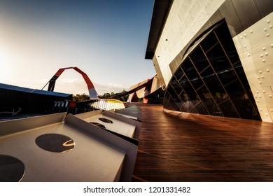 Canberra, Australia, National Museum,  taken in December 2012