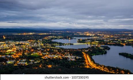 Canberra City Lights