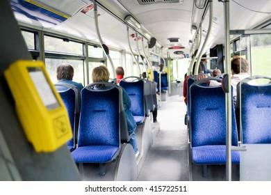 Cancels inside  the public bus