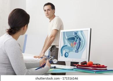 Cancer Consultation Man
