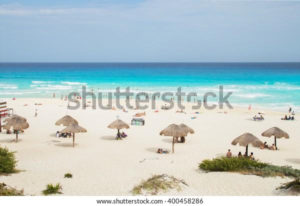 Cancun Dolphin Beach, Mexico