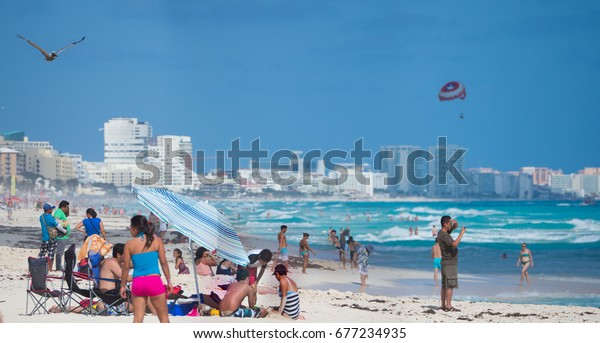 Christmas In Cancun.Cancun Mexico December 29 2016 Christmas Stock Photo Edit