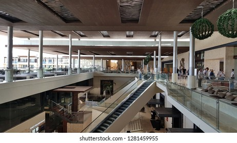 CANCUN, MEXICO - JANUARY 10, 2019: An exclusive resort main lobby in Cancun, Mexico.
