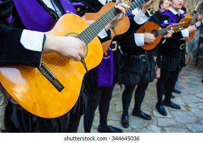 CANCUN, MEXICO, SEPTEMBER 2015 Mariachi spain guitar player