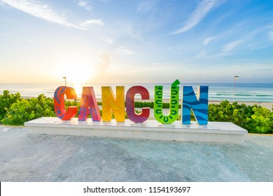 Cancun at sunrise