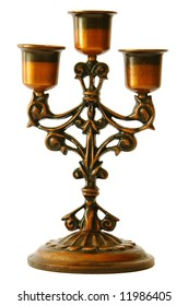 Candelabra from the front