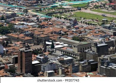 Candelaria (Bogota) from Monserrate