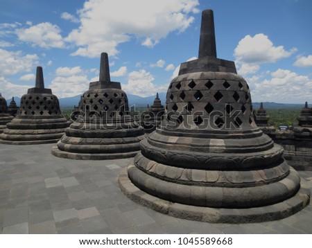 Candi Borobudur Magelang Indonesia Stock Photo Edit Now 1045589668