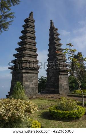 Candi Cetho Karanganyar Central Java Indonesia Stock Photo Edit Now