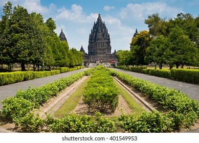 Candi Prambanan, Hindu temple compound in Central Java, Indonesia