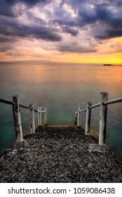 Candidasa beach Bali, Indonesia