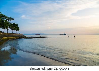 Candidasa beach, Candidasa, Bali, Indonesia