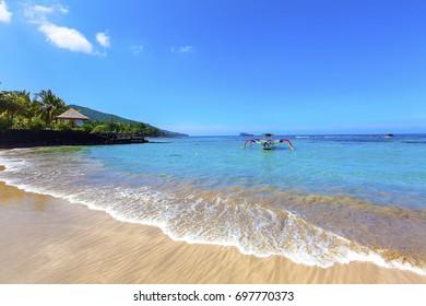 Candidasa beach, Bali, Indonesia