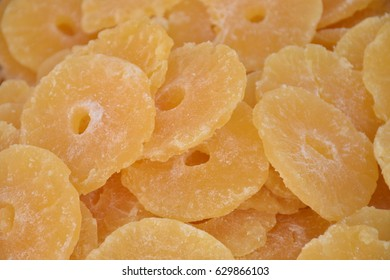 Candied fruits - pineapple