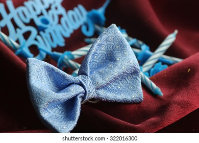 candle bow birthday