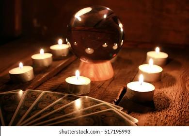 candle divination tarot cards
