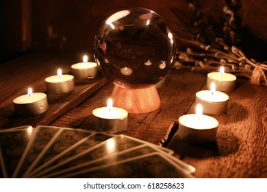 candle divination tarot cards