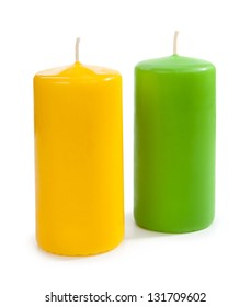 Candle isolated