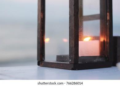 Candle light Beautiful light